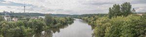 Privaloma panorama Nr. 1 - Nuo Lazdynų tilto